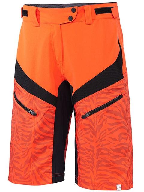 Protective Icana - Bas de cyclisme Femme - orange/noir